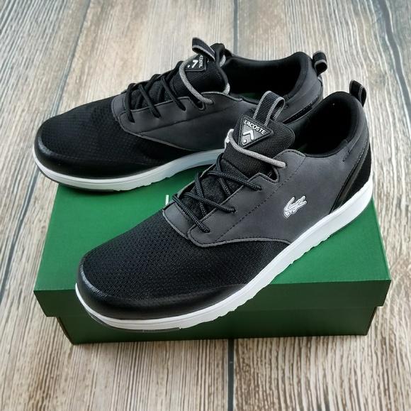 a7776f866ddd  NIB  LACOSTE Men s Sneaker - Black